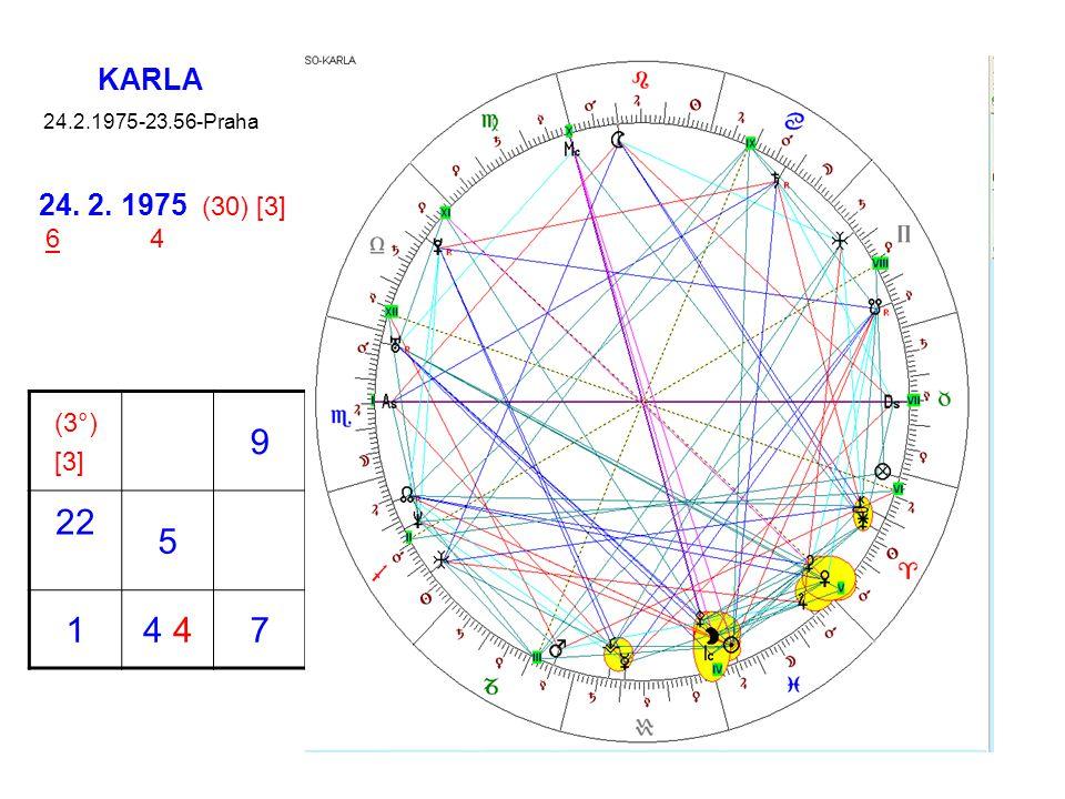 KARLA 24.2.1975-23.56-Praha 24. 2. 1975 (30) [3] 6 4 (3°) [3] 9 22 5 1 4 4 7